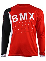 cheap -wisdom leaves motorcycle cross-country jersey own mountain bike HD downhill cross-country jersey outdoor sports long-sleeved T-shirt quick  BMX