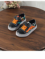 cheap -Boys' Shoes Real Leather Spring Fall Comfort Sneakers for Casual Orange White