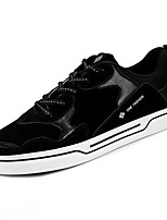 cheap -Men's Shoes Nubuck leather Spring Fall Comfort Sneakers for Casual Black Black/Red Black/Green