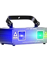 cheap -Laser Stage Light DMX 512 Master-Slave Sound-Activated Auto 20 for Stage Bar Club Festival/Holiday Party Professional Durable