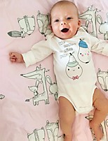 cheap -Baby Solid One-Pieces,Cotton Spring White