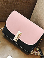 cheap -Women Bags PU Shoulder Bag Zipper for Casual All Season Light Grey Blushing Pink Green Blue