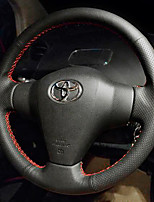 cheap -Automotive Steering Wheel Covers(Leather)For Toyota All Years Corolla