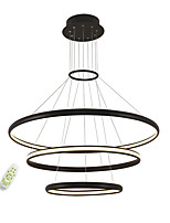Electrodeless Dimming Led Pendant Lights Modern Simplicity Three Rings Living Room Bedroom Restaurant Chandelier