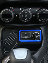 cheap -Automotive Ignition Switch Cover DIY Car Interiors For Jeep Renegade Plastic