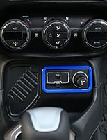 abordables -Couvercle de commutateur d'allumage automobile diy intérieurs de voitures pour jeep renégat plastique
