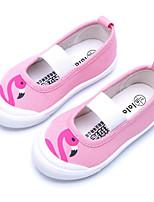 abordables -Fille Chaussures Toile Printemps Automne Confort Ballerines pour Décontracté Beige Jaune Gris foncé Rose