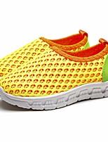 Недорогие -Девочки обувь Тюль Весна Осень Удобная обувь Спортивная обувь Беговая обувь для Повседневные Оранжевый Серый Желтый Красный Синий