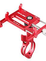billige -Cykel Mobiltelefon Montage Stativ Holder Justerbar Stander 360° Rotation Buckle Type Skridsikker Polykarbonat Holder