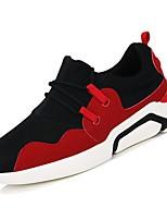 economico -Per uomo Scarpe PU (Poliuretano) Primavera Autunno Comoda Sneakers per Casual Bianco Nero Rosso