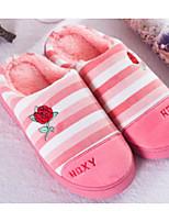 economico -Per donna Unisex Scarpe Tessuto Primavera Autunno Comoda Pantofole e infradito Basso per Casual Grigio Caffè Rosa Rosa Chiaro