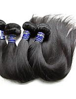 Недорогие -перуанские виргинские волосы прямые пучки 4шт 400 г много 9а качество перуанских remy наращивание человеческих волос ткет естественный