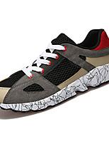 Недорогие -обувь Полиуретан Весна Осень Удобная обувь Кеды для на открытом воздухе Черный Серый Зеленый