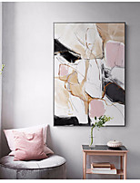 Недорогие -Предметы искусства,Алюминиевый сплав материал с рамкой For Украшение дома Предметы искусства в рамках Спальня