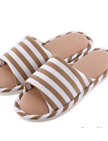 cheap -Unisex Shoes Fabric Spring Fall Comfort Slippers & Flip-Flops Low Heel for Casual Fuchsia Coffee Pink Light Blue Royal Blue