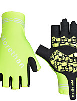 cheap -Sports Gloves Sports Gloves Bike Gloves / Cycling Gloves Wearable Breathable Anti-Shock Skidproof Fingerless Gloves Nylon Mountain