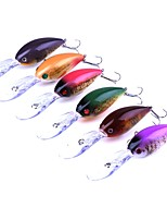 cheap -6 pcs Crank Hard Bait Plastic Sea Fishing Trolling & Boat Fishing General Fishing