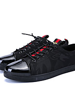 cheap -Men's Shoes Fabric Spring Summer Comfort Sneakers for Casual Outdoor Black