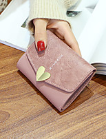 cheap -Women's Bags PU Wallet Buttons for Shopping Casual All Seasons Green Black Blushing Pink Gray Coffee