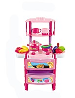 cheap -Toy Kitchens & Play Food Toys Food & Beverages Simulation Parent-Child Interaction ABS Child Adults' 24 Pieces