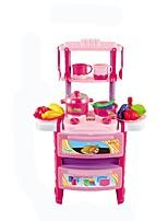 Недорогие -Игрушечная еда и всё для кухни Игрушки Еда и напитки Взаимодействие родителей и детей моделирование ABS Детские Взрослые 24 Куски