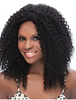 cheap -Very Fashionable Kinky Curly Wig Human Hair Full Lace Wig For Women With Present Best Selling