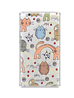 cheap -Case For Huawei Huawei MediaPad T3 8.0 Transparent Pattern Back Cover Cartoon Soft TPU for
