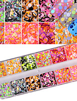 cheap -Nail Glitter Sequins Classic Bright Fashion Sparkle & Shine High Quality Daily Nail Art Design