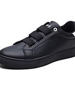 Недорогие -Муж. обувь Полиуретан Весна Осень Удобная обувь Кеды Животные принты для Повседневные Белый Черный Красный