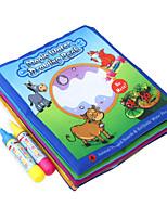 Недорогие -Игрушечные планшеты для рисования Игрушки Квадратный Животные Живопись Куски