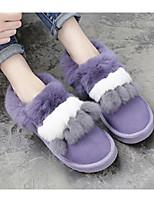 abordables -Femme Chaussures Cuir Nubuck Cuir Printemps Automne Confort Bottes de neige Bottes Talon Plat Bottine/Demi Botte pour Décontracté Noir