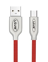 abordables -LUJIE Micro USB 2.0 Câble, Micro USB 2.0 to USB 2.0 Câble Male - Male <1m/3ft 480 Mbps