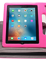 cheap -Case For iPad 4/3/2 Shockproof with Stand Flip Auto Sleep/Wake Up Full Body Solid Color Hard Plastic for iPad 4/3/2