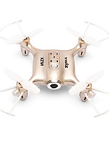 cheap -RC Drone SYMA HY21W Gold 4CH 6 Axis 2.4G With 0.3MP HD Camera RC Quadcopter WIFI FPV LED Lighting One Key To Auto-Return Headless Mode