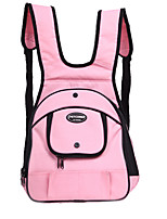 cheap -Dog Backpack Pet Carrier Multi layer Portable Solid Pink Gray Beige