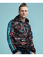 cheap -Men's Hoodie - Camouflage, Mesh