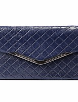 cheap -Women Bags PU Clutch Pockets for Outdoor All Season Dark Blue Red