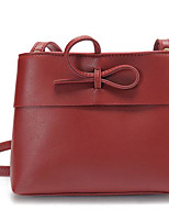 cheap -Women Bags PU Shoulder Bag Zipper for Casual All Season Light Grey Dark Grey Brown Red Black