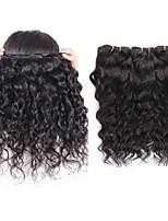 Недорогие -10a перуанские виргинские волосы естественный тип волны 3pieces 300g серия remy выдвижения человеческих волос ткут пучки естественный