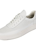 cheap -Shoes PU Spring Fall Comfort Sneakers for Casual White Black