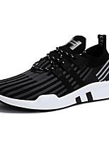 economico -Per uomo Scarpe Tessuto Primavera Estate Comoda Sneakers per Casual All'aperto Nero Rosso Nero/Rosso