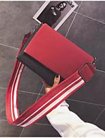 cheap -Women Bags PU Shoulder Bag Buttons Zipper for Casual All Season Khaki Red black Red Black Blue