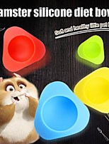 cheap -Silicone Portable Bowls & Water Bottles Blue Green Red Yellow