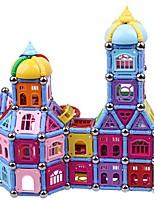 preiswerte -Magnetsticks Spielzeuge Architektur Transformierbar Weicher Kunststoff 300 Stücke