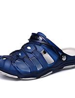 Недорогие -обувь силикагель Лето Удобная обувь Тапочки и Шлепанцы для Повседневные Черный Темно-синий Зеленый