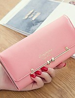 cheap -Women Bags PU Wallet Pockets for Outdoor All Season Fuchsia Light Green Purple Blushing Pink Red
