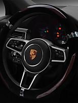 abordables -cubiertas del volante automotriz (felpa) para motores generales universales