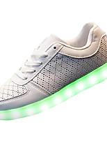 Недорогие -Муж. обувь Полиуретан Весна Осень Обувь с подсветкой Спортивная обувь для Атлетический Белый