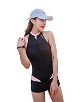 economico -HISEA® Per donna Muta umida Yoga Asciugatura rapida Antivento Elastico Nuoto Ripiegabile Resistente ai raggi UV Licra Scafandro Senza