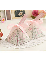 cheap -Toys Card Paper Favor Holder with Ribbons Favor Boxes Gift Boxes Candy Jars and Bottles - 10pcs